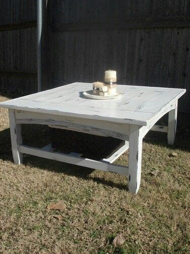Distressed White Coffee Table White Coffee Table Distressed Tables Pinterest