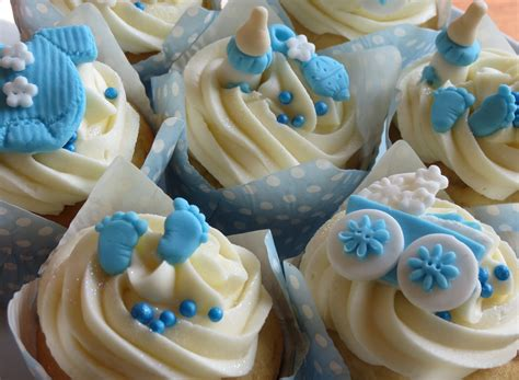 Baby Shower Cupcakes by Baby Shower Cakes Baby Boy Shower Cupcakes Decorations