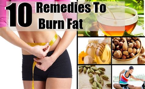 10 surprising melting remedies to burn and slim