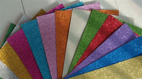 Glitter Craft Paper - quanlity color glitter foam paper buy color glitter