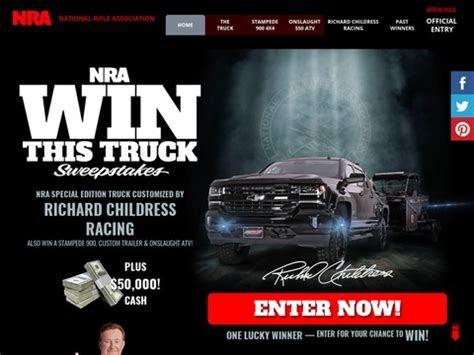 Nra Sweepstakes 2017 - home enter for a chance to win a 2017 chevy silverado autos post