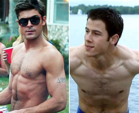 justin bieber bench press zac efron vs nick jonas who s the hottest capital
