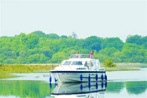 fishing boat hire lough erne boat holidays erne waterways ireland cruiser day