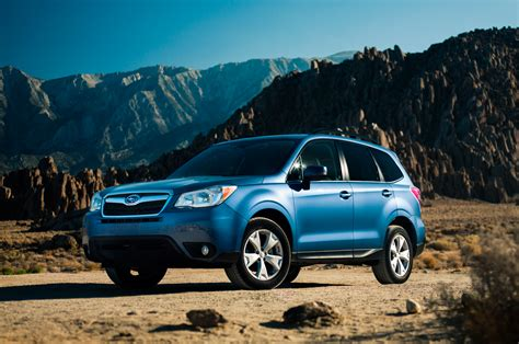 subaru suv 2014 2014 motor trend suv of the year subaru forester photo