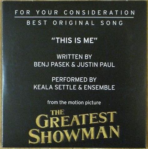 song original the greatest showman fyc best original song cd this is me