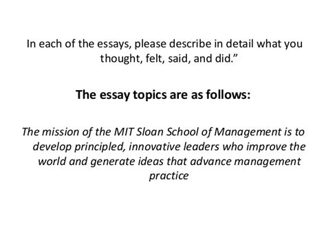 Tips For Mba Essay Questions Accepted by Mit Mba Essay Tips Bibliographyquizlet X Fc2