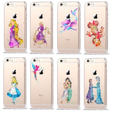 Disney Big 6 E0089 Iphone 5 5s Se Casing Custom Hardcase aliexpress buy phone cases for coque iphone 7 7plus 6 6s plus se 5 5s watercolor minnie