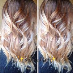 copper brown hair on pinterest color melting hair blonde hair exte copper blonde color melt my work pinterest copper