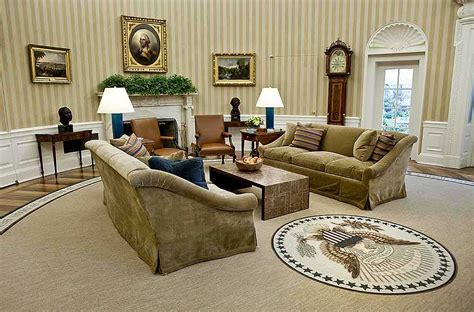 oval office decor obama barack obama s oval office makeover hellomagazine com
