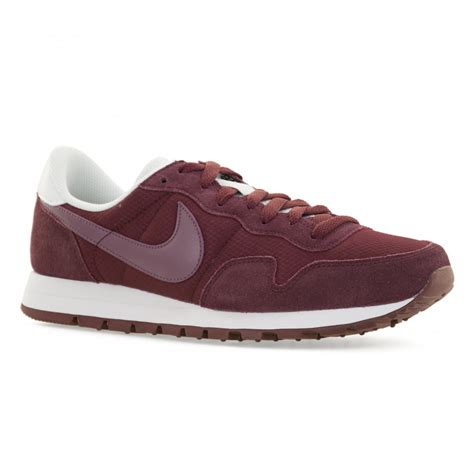 Nike Air Pegassus Maroon White Smoosh nike mens air pegasus 83 416 trainers maroon purple shade white mens from loofes uk