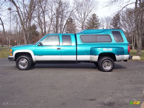 1994 chevrolet c k 3500 extended cab 4x4 dually interior bright teal metallic 1994 chevrolet c k 3500 extended cab 4x4 dually exterior photo 58191924