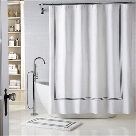 white shower curtain with black trim white shower curtains with black trim curtain