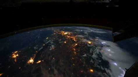 universe wallpaper gif earth viewed from the iss gifs