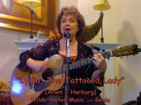lydia the tattooed lady lyrics lydia the tattooed lyrics genie at aegis of
