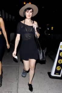 rumer willis hits nightclub even though she s still