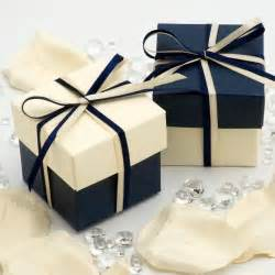 wedding gift boxes uk navy blue favour boxes millington s bath bombs wedding favours personalised gifts
