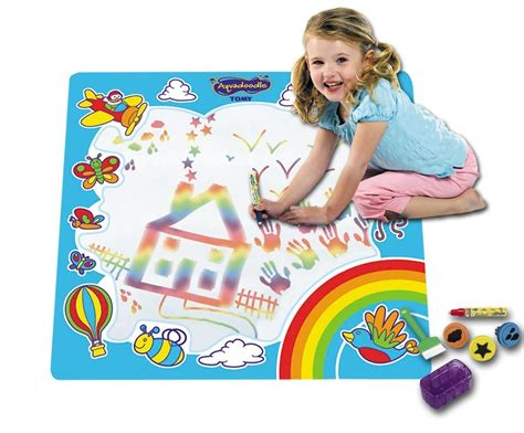 aquadoodle drawing tomy rainbow aquadoodle painting drawing mat baby