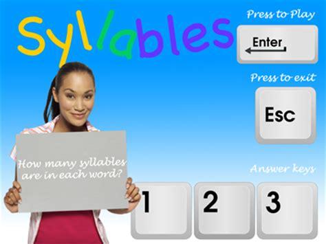 syllables game as potential glass app reva digital