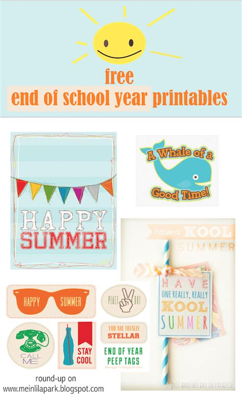 printable end of year gift tags free printable happy summer gift tags end of school year