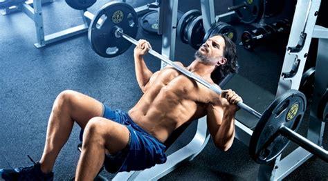Joe Manganiello Bench Press joe manganiello s workout routine fitness
