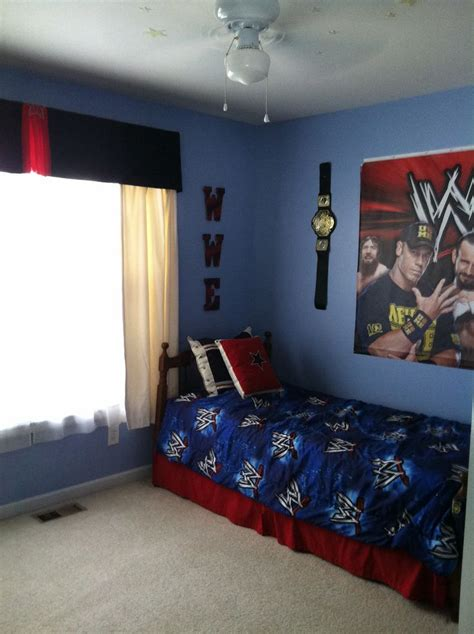 wwe bedroom decor best 25 wwe bedroom ideas on pinterest