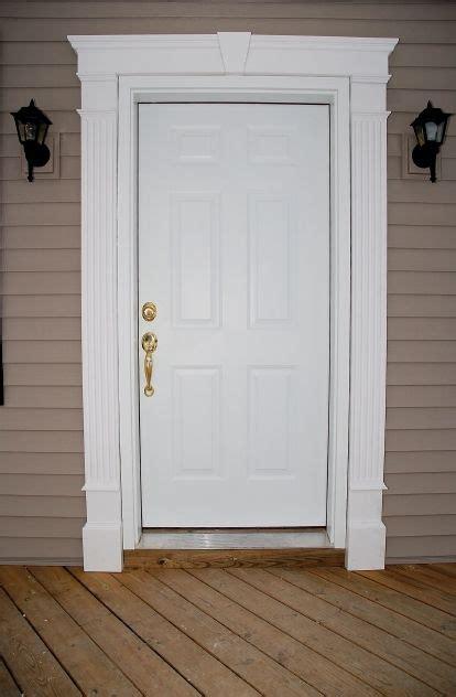 decorative frame door best 25 exterior door trim ideas on pinterest craftsman