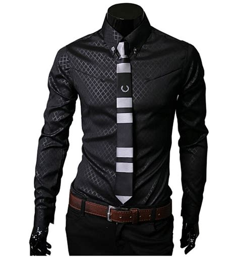 2015 new brand dress shirts camisa masculina 2015 new dress shirts collar button unique design slim fit brand