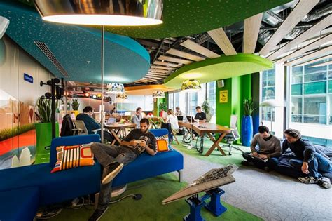 Google Offices by World Of Architecture Inside Of Google Office In Dublin