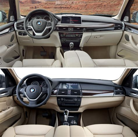Bmw X3 2007 Interior A Look At Bmw X5 F15 Versus Outgoing X5 E70 Which Do You