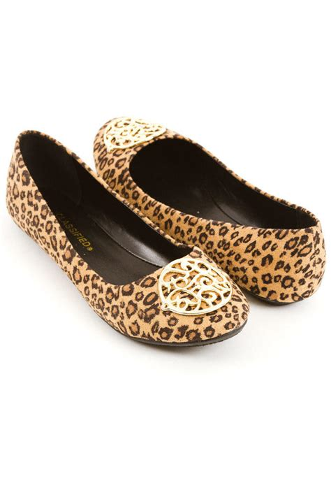 leopard print flat sandals leopard print flat cheetah print shoes from for elyse