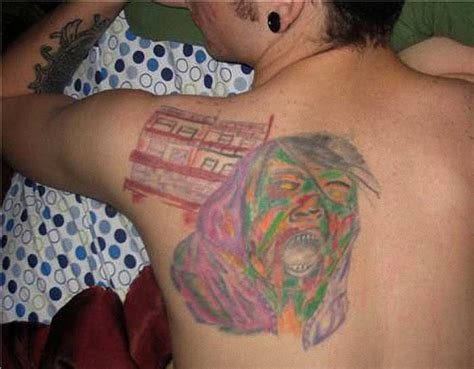 tacky tattoos bad tattoos top 50 of the world s worst tattoos