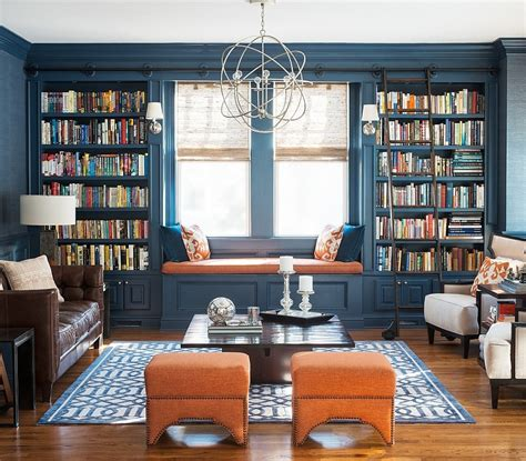 Room With Books Chic Living Room Decorating Trends To Out For In 2015