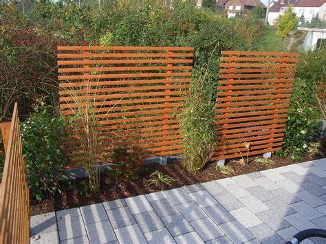 Garten Sichtschutzwand by Holz Matthias Lutz Der Garten