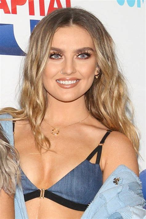 perrie edwards wavy light brown loose waves ombr 233 side