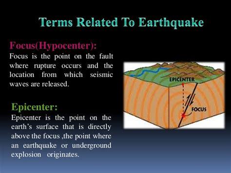 earthquake meaning earthquake ppt