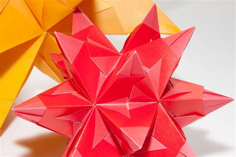Three Dimensional Origami - free photo origami of paper folding fold free
