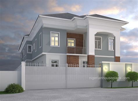 4 Bedroom Duplex Designs 2 Bedrooms Archives Nigerianhouseplans