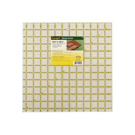 Omnigrid Quilting Rulers by Omnigrid Square Quilting Ruler 12 5 Inch By 12 5 Inch