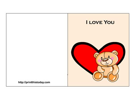 free love printable greeting cards love cards for her