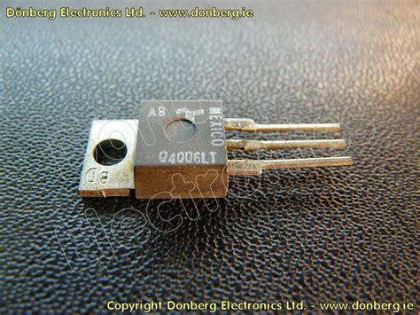 diode triac semiconductor q4006lt q 4006lt triac diode ac 400v 6a 2ma