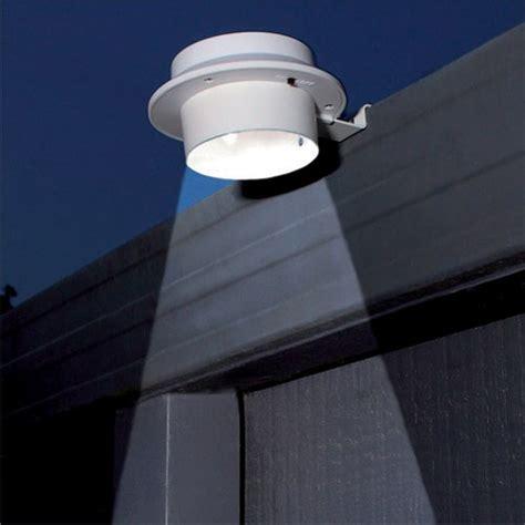 Gutter Solar Lights 3 Led Solar Sun Powered Gutter Door Fence Wall Lights
