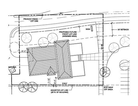 drawing site plan scale drawing