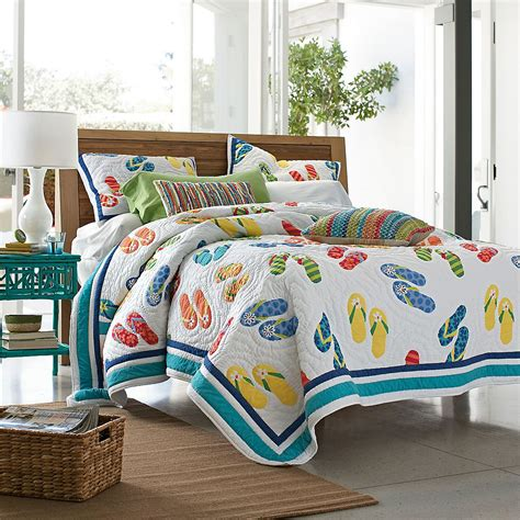 summer flip flop quilt the company store comforter