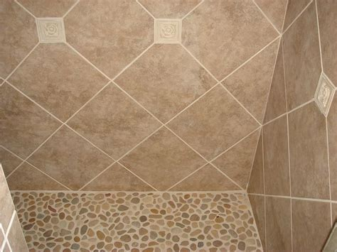 floor ls tulsa river rock shower floor ls bathroom bathroom tiles