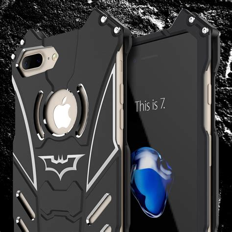 R Just Batman Original Samsung S7 Metal Samsung S7 Flat bat armor aluminum metal steel bumper shockproof cover