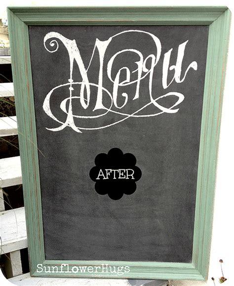 diy chalkboard menu diy chalkboard menu reader featured project the