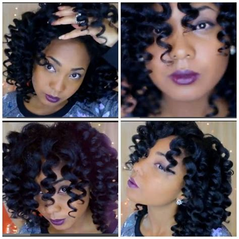 curling rods for hair twist out flexi rod set natural hair journey