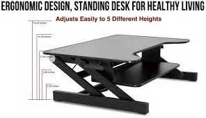 stand up desk mechanism 49 best images about table top desk on