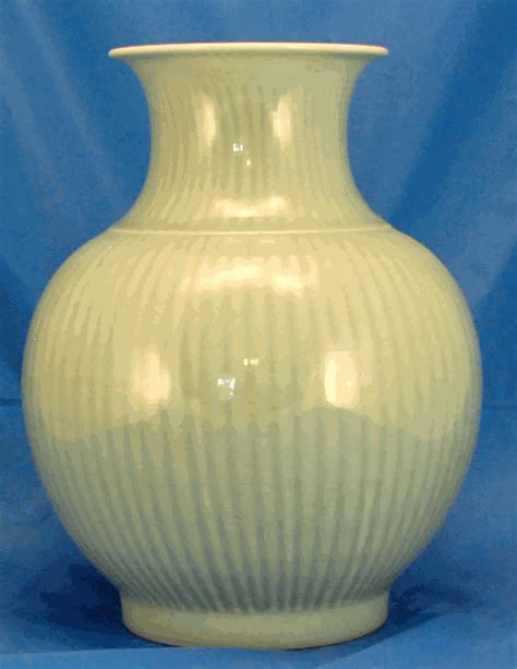 Celadon Vase by Decor Large Celadon Vase