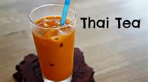 how to make thai tea easy recipe youtube